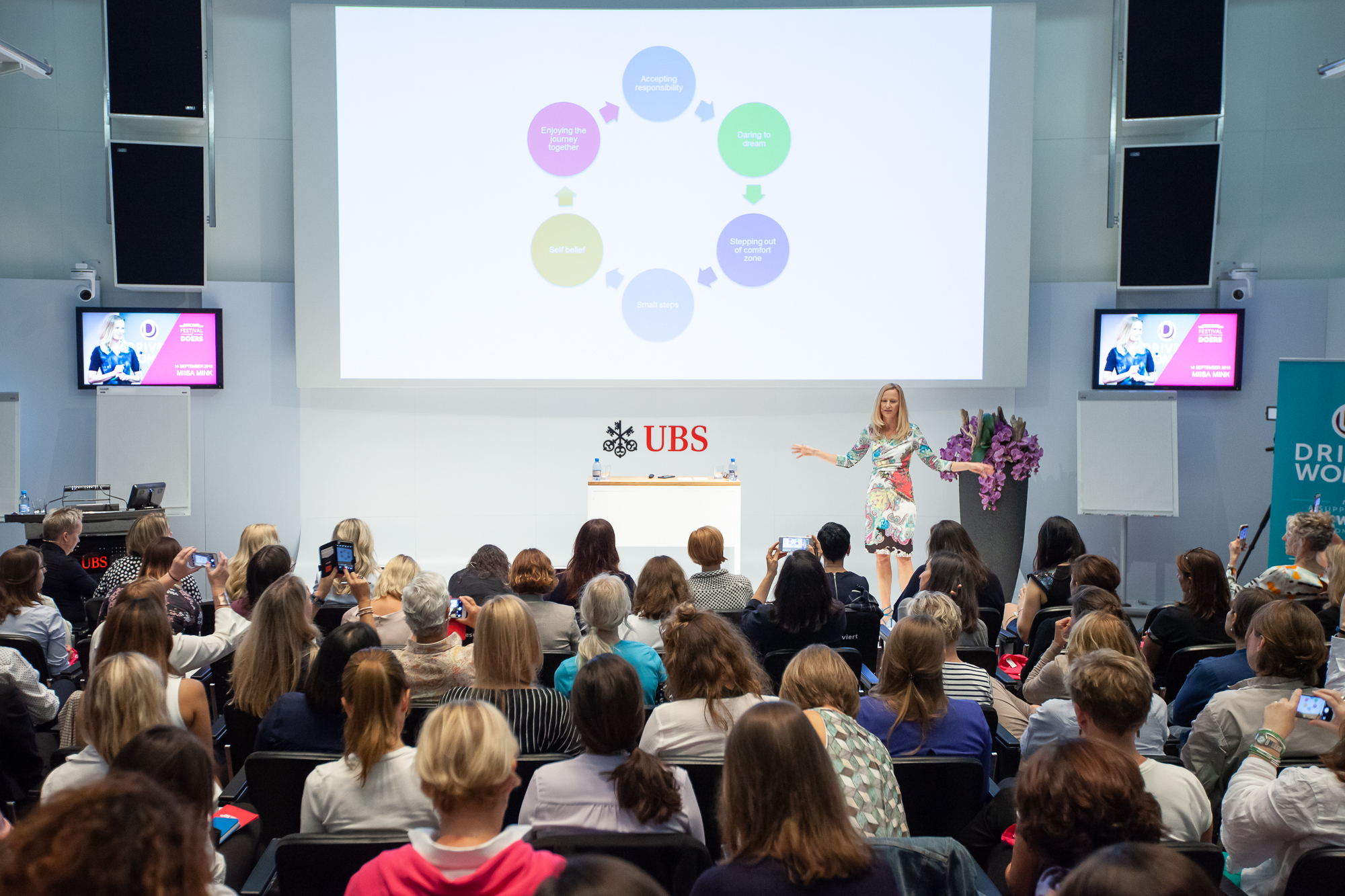 Festival of Doers Zürich 2018 at UBS